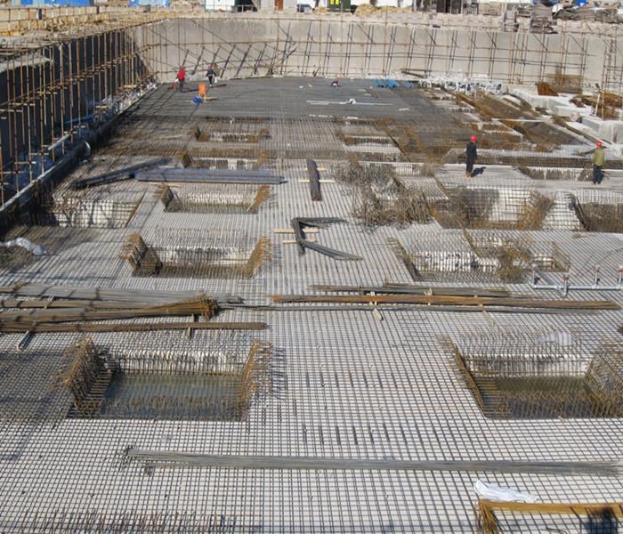 南昌市建筑设计研究院总部办公大楼工程地下室底板__.
